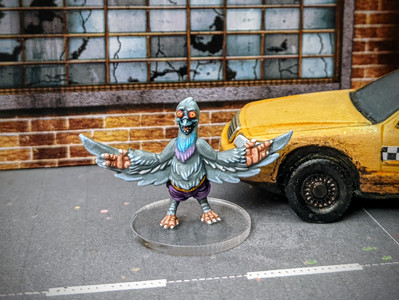 How To Paint - Pigeon Pete