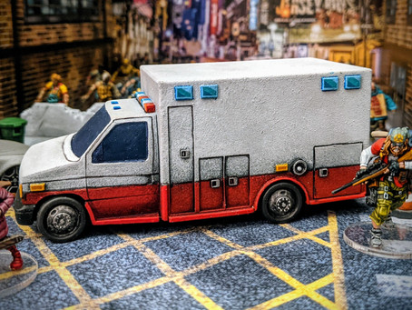 They're Going Home in the Back of an Ambulance!