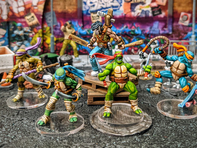 Heroes in a Half Shell & a Hockey Mask