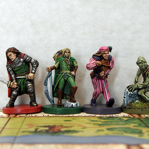 Warrior, Elf, Minstrel and Ghoul.jpg