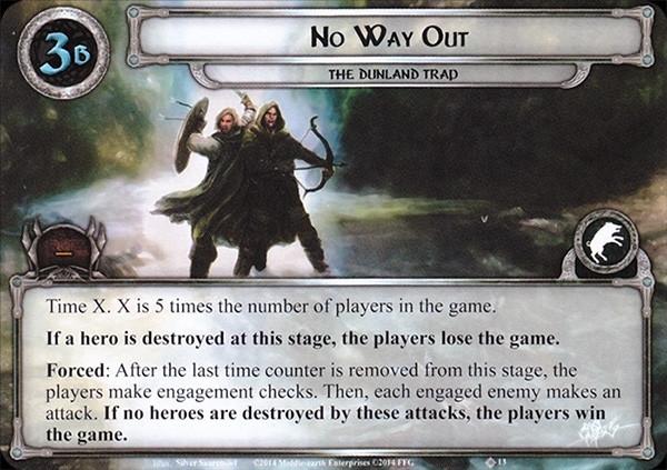 No Way Out, LOTR LCG