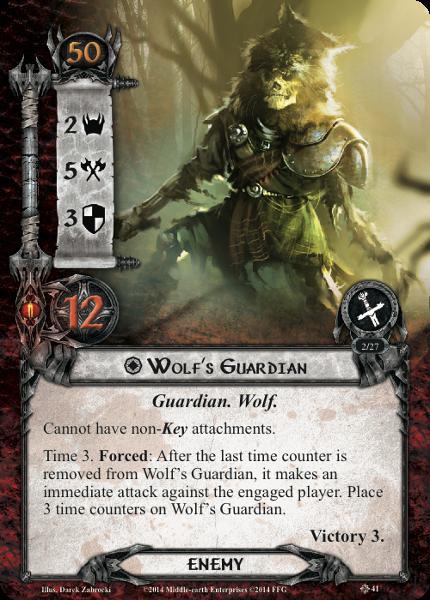 Wolf Guardian, LOTR LCG