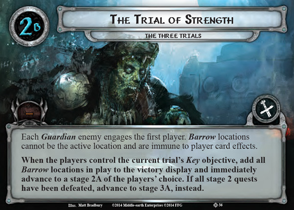 Trial of Strength, LOTR LCG