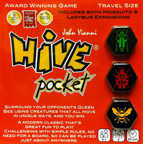 Hive Pocket |  Unboxed The Board Game Blog | Board Game Reviews | United Kingdom image