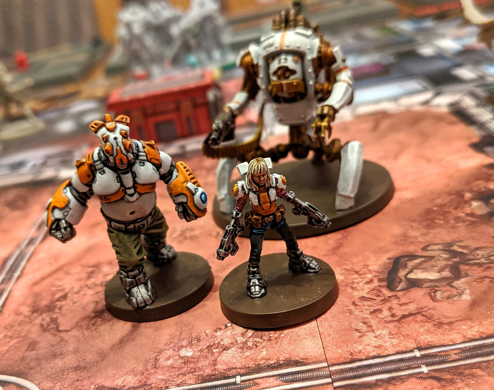 Zombicide Invader - Orphan Gang, Jennie, Goliath