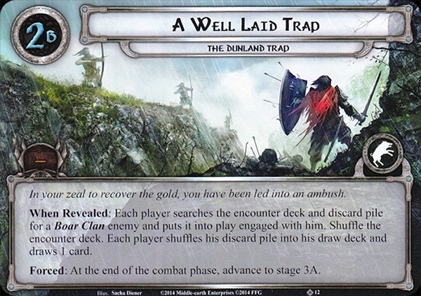 A Well Laid Trap, LOTR LCG