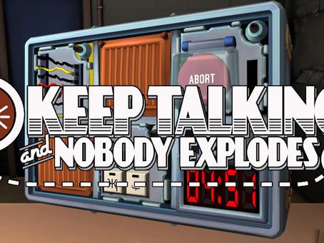 Game Night Reviews: Keep Talking and Nobody Explodes