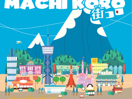 Day 4: Machi Koro Deluxe Edition