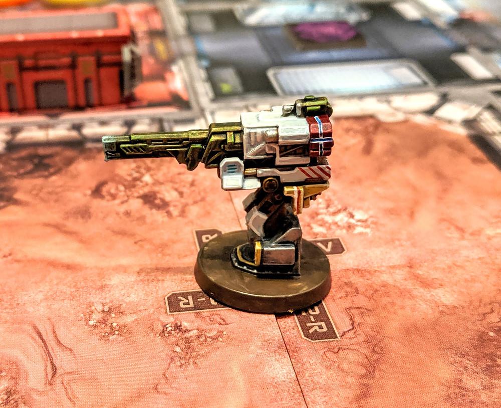 Zombicide Invader - Falchion Sentry Gun