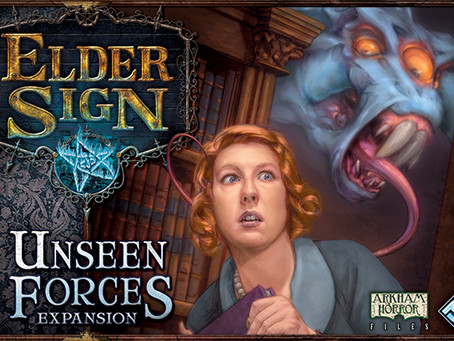Day 2: Elder Sign with Unseen Forces