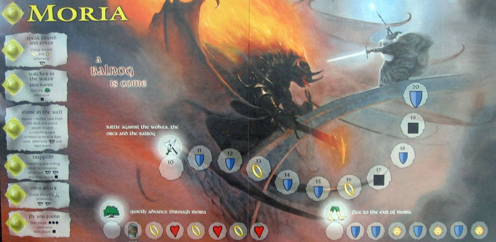 Lord of the Rings Moria Board