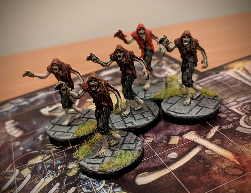 Duke of the Blood Keep, Baking Bases, Descent, Zombies