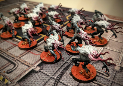 Zombicide Invader - Painting Xeno Hunters