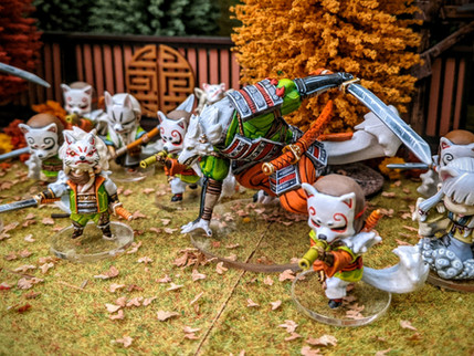 Conquering Clan Kitsune