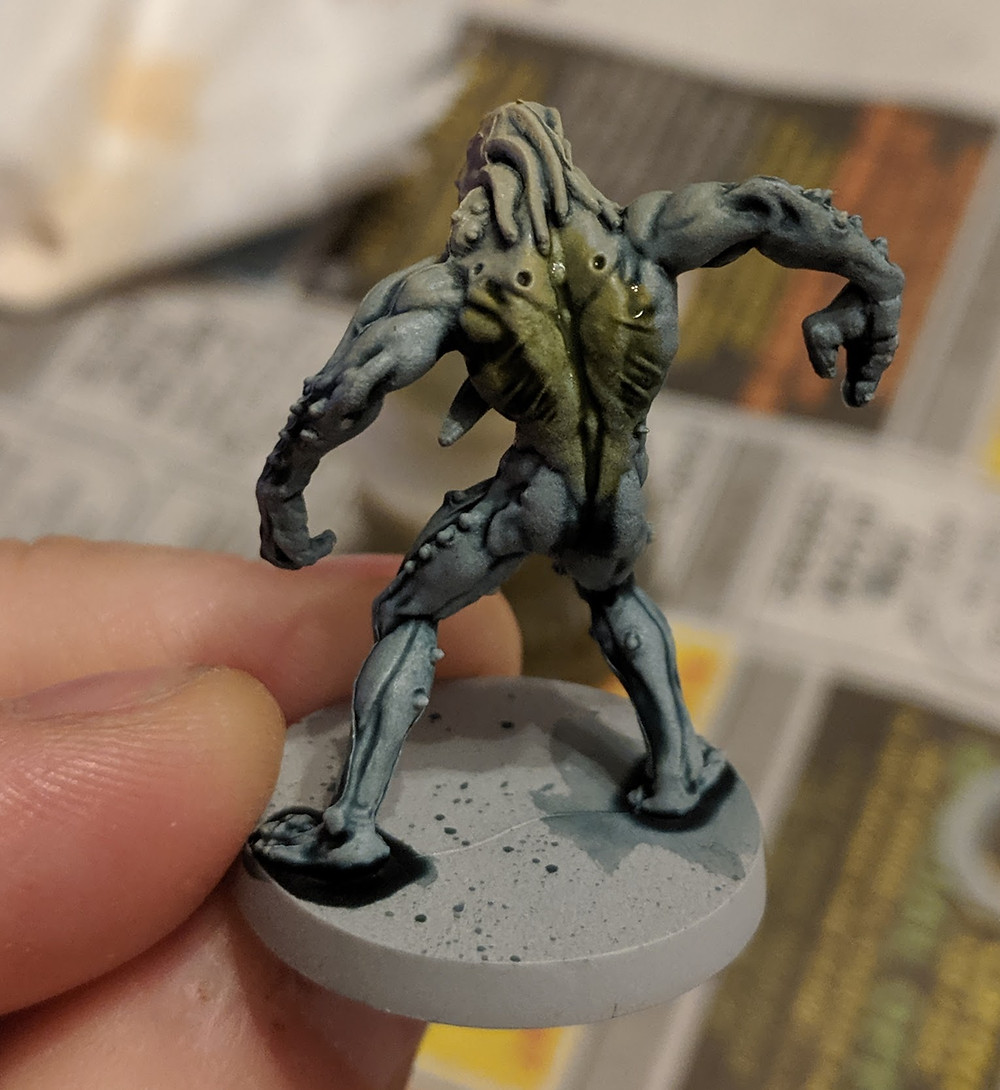 Zombicide Invader - Worker Xeno - Plaguebearer Flesh