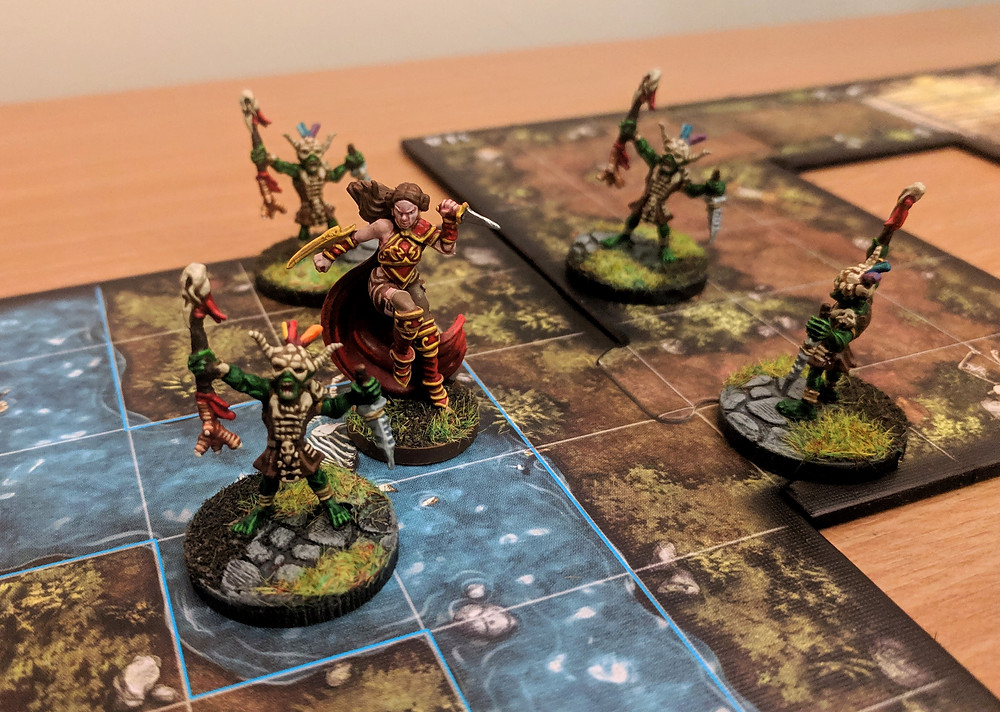 Duke of the Blood Keep, Baking Bases, Descent, Goblin Witchers