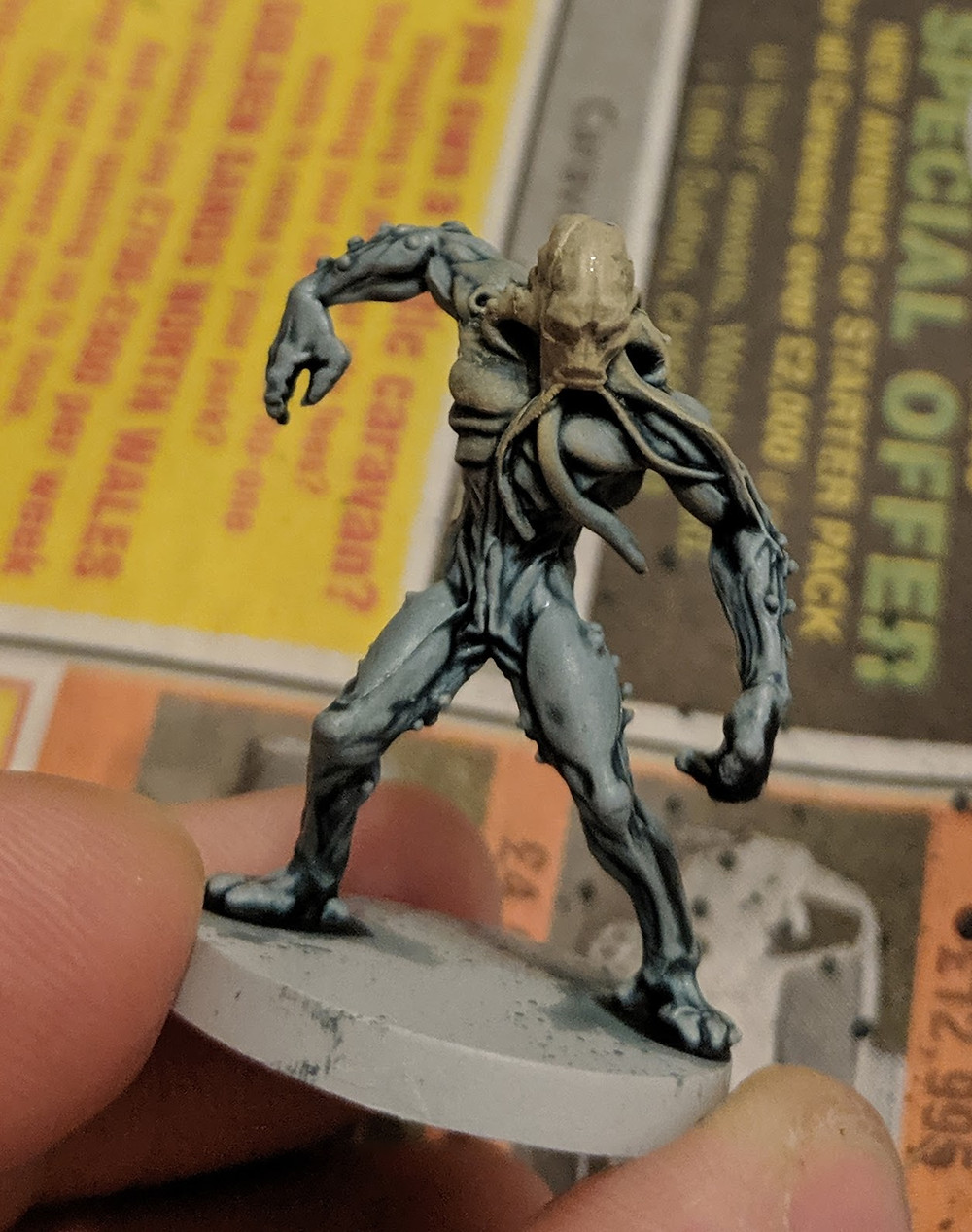 Zombicide Invader - Worker Xeno - Jack Bone & Lahmian Medium
