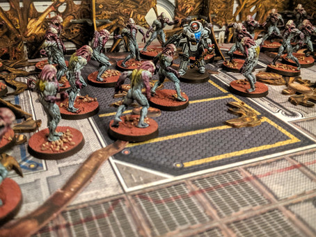 Painting Zombicide Invader - Xeno Workers