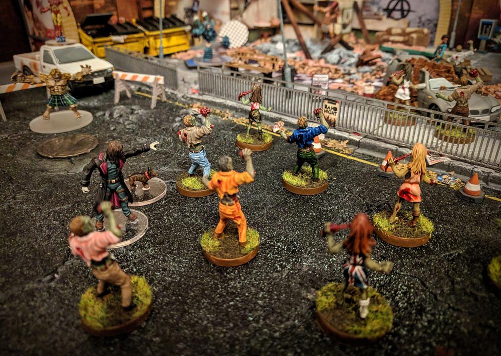 Zombie Apocalypse, Pulp City, 28mm, Wargames