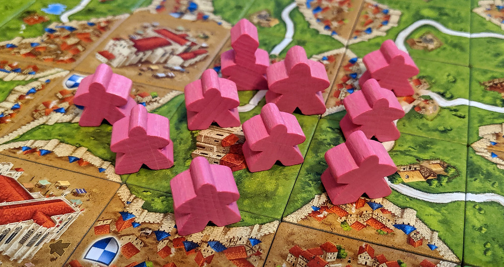 Carcassonne 6th Player