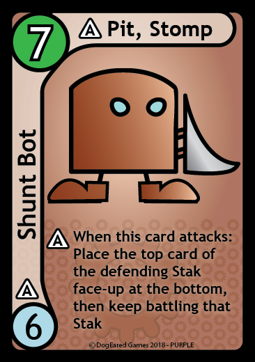 Shunt Bot, Stak Bots