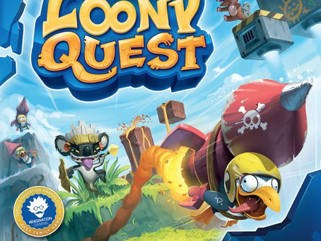 Game Night Reviews: Loony Quest