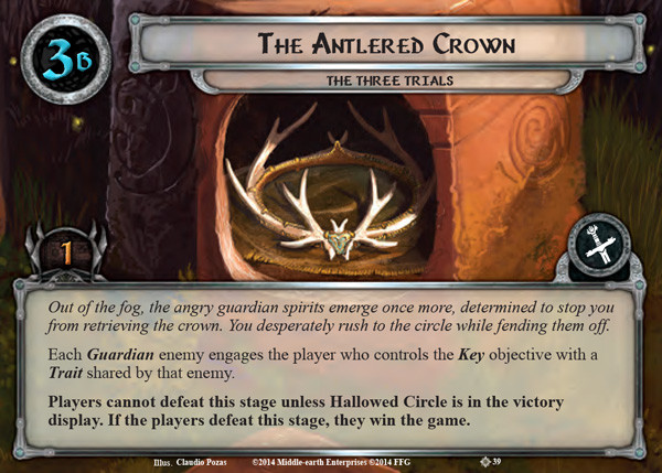 Antlered Crown, LOTR LCG