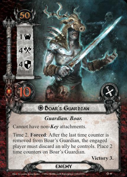 Boar Guardian, LOTR LCG