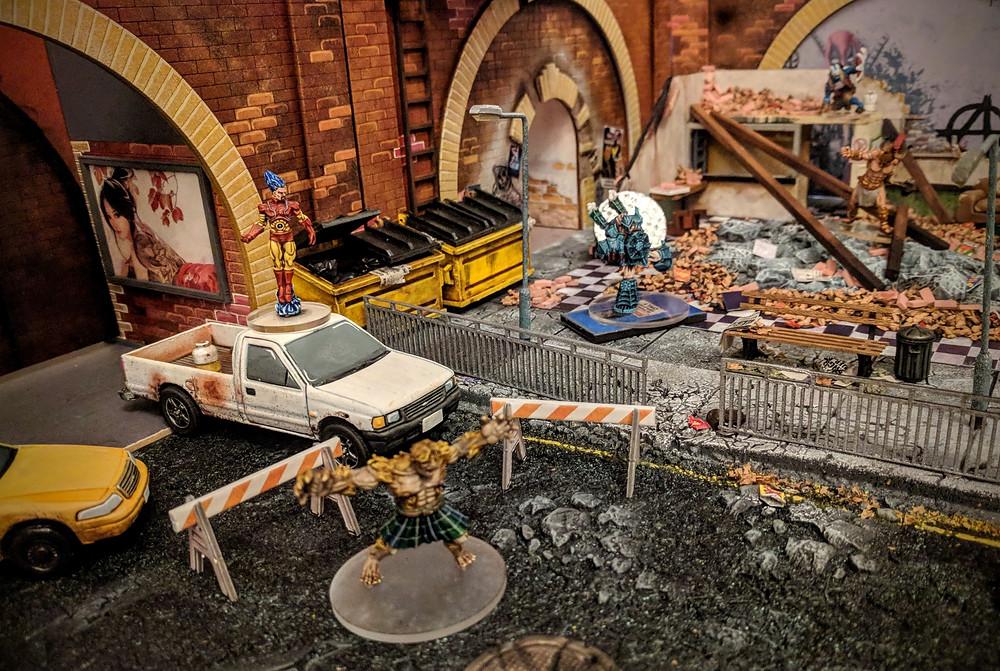 28mm Resin Vehicles, Superheroes, Postapocalypse