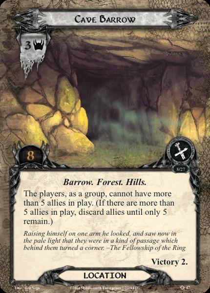 Cave Barrow, LOTR LCG