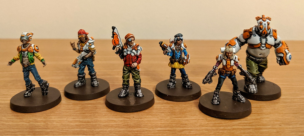 Zombicide Invader - Orphan Gang, Clops, Ink, Wizard, Baby, Jennie, Goliath