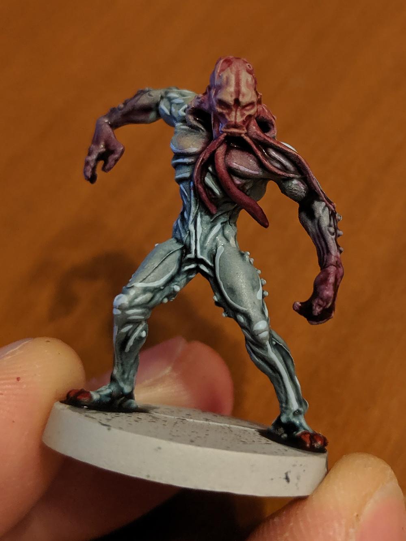 Zombicide Invader - Worker Xeno - Volupus Pink