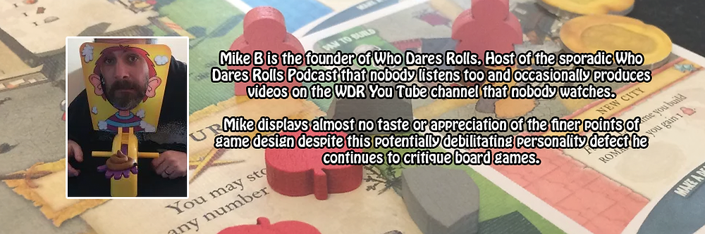 Mike Barnes - Who Dares Rolls