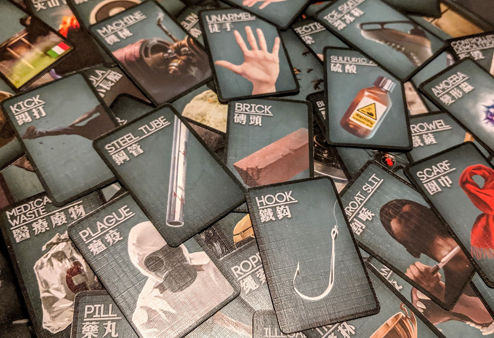 Deception Murder in Hong Kong Means Cards