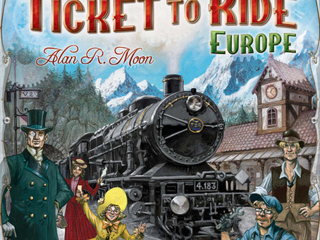Game Night Reviews: Ticket to Ride