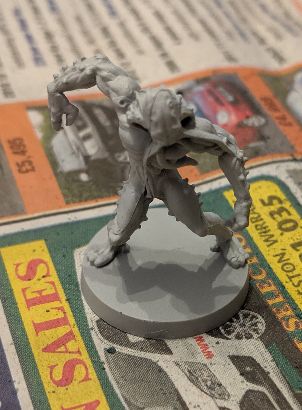 Zombicide Invader - Worker Xeno - Grey Seer