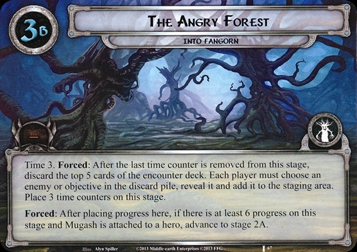 The Angry Forest, FFG, LOTR
