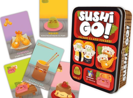 Game Night Reviews: Sushi Go
