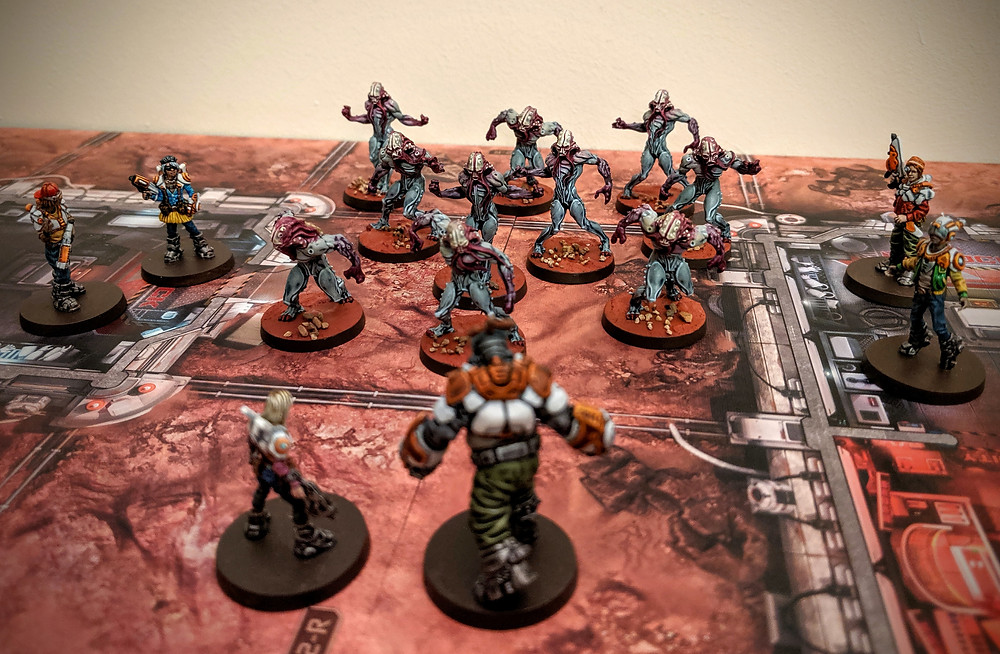 Zombicide Invader - Worker Xenos