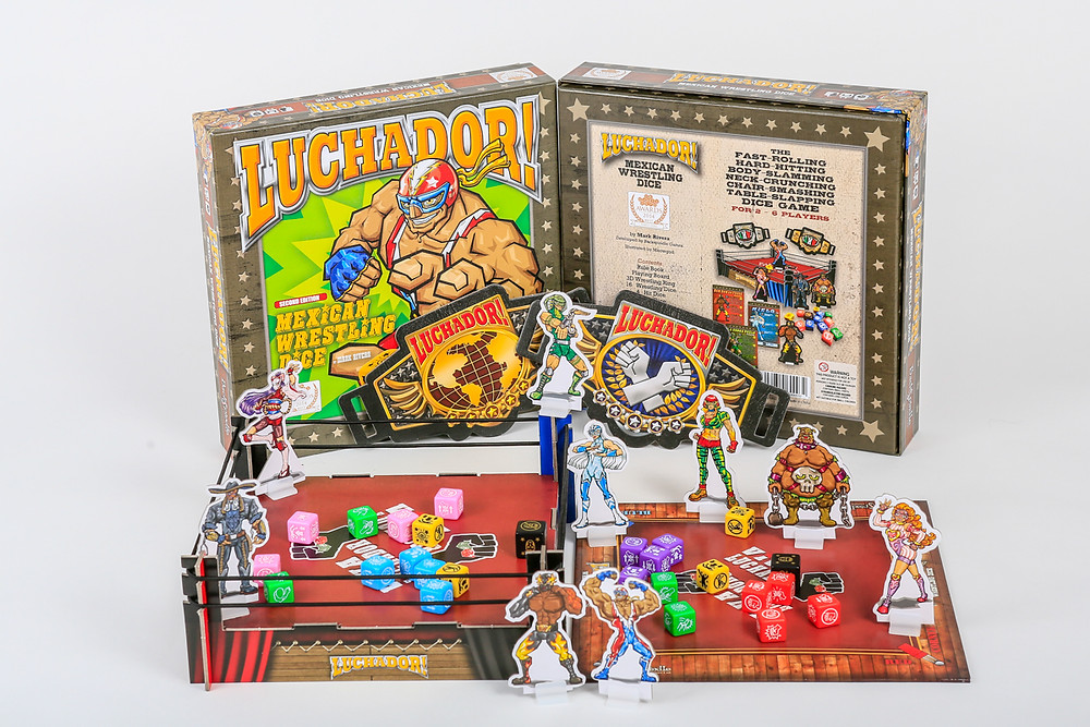 Luchador The Mexican Wrestling Dice Game