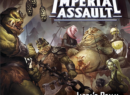 Day 8 - Imperial Assault: Jabba's Realm