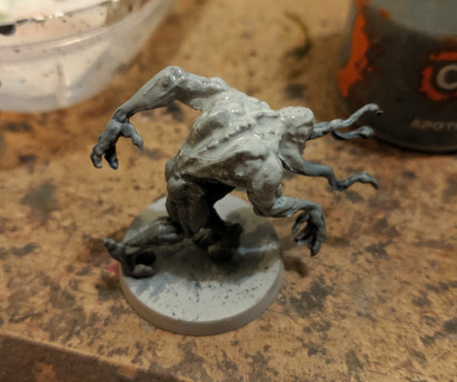 Zombicide Invader - Painting Xeno Hunters - Apothecary White