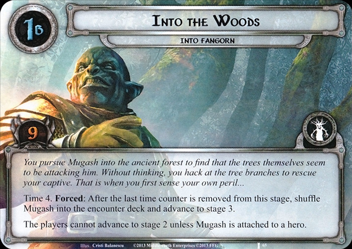 Into the Woods, FFG, LOTR