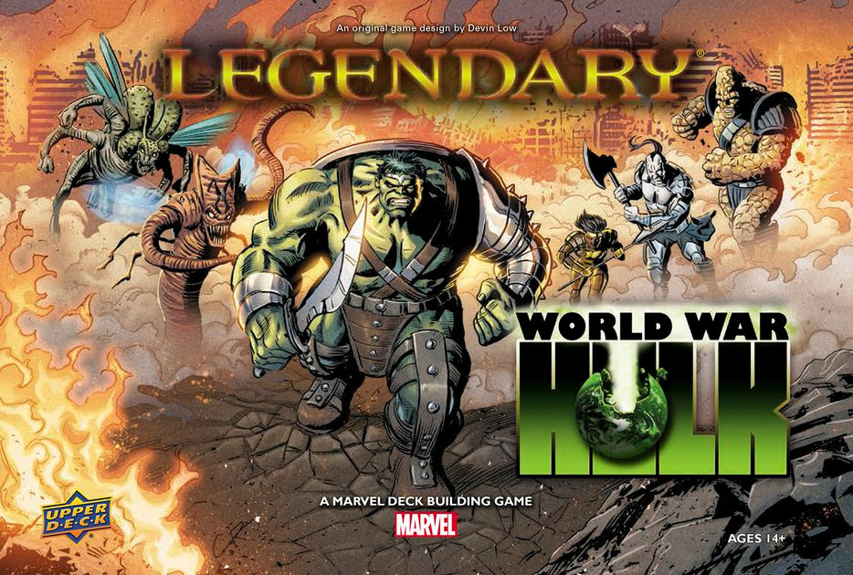 Legendary, World War Hulk, Upper Deck