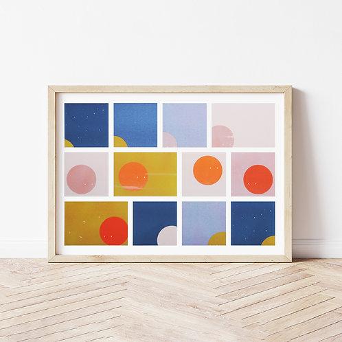 SOON - Risograph Print