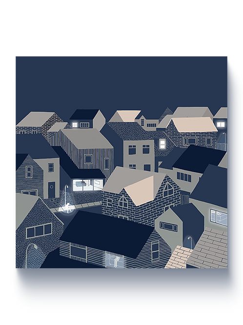 SUBURBS - Giclée Print