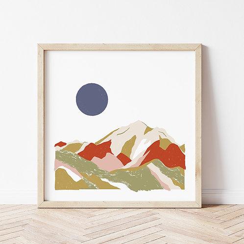 Mountain - Digital Print