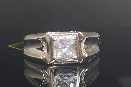 Men's Solid Silver Engagement Ring Design 25