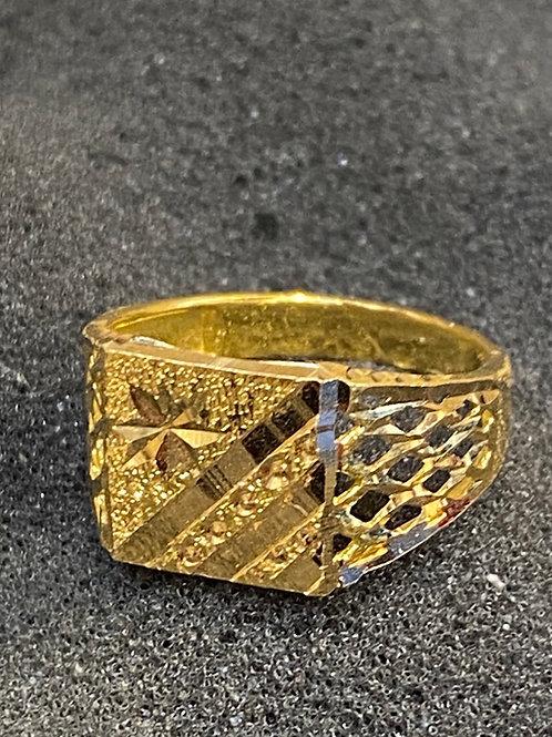 Design 201 Men's  22ct Gold Ring