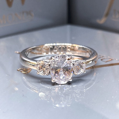MEGHAN STYLE TRILOGY ENGAGEMENT RING
